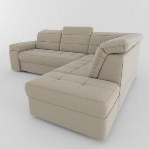 sofa aliot 01 3d obj