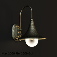 3d model ideal-lux cima ap1