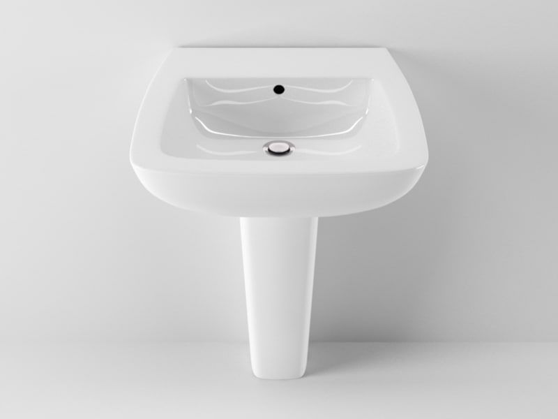 3d model ideal standard 21 washbasin