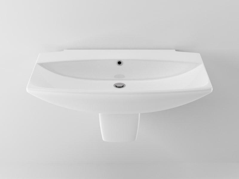 cinema4d ideal standard washbasin 2