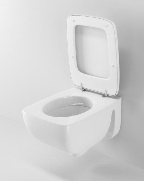 3d c4d ideal standard toilet 2