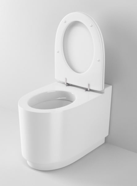 ideal standard moments toilet 3d model