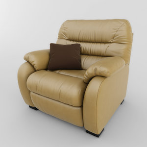 chair atlanta 01 3d model