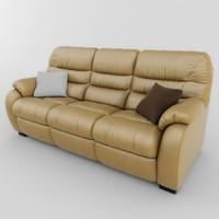 sofa atlanta 01 3d model