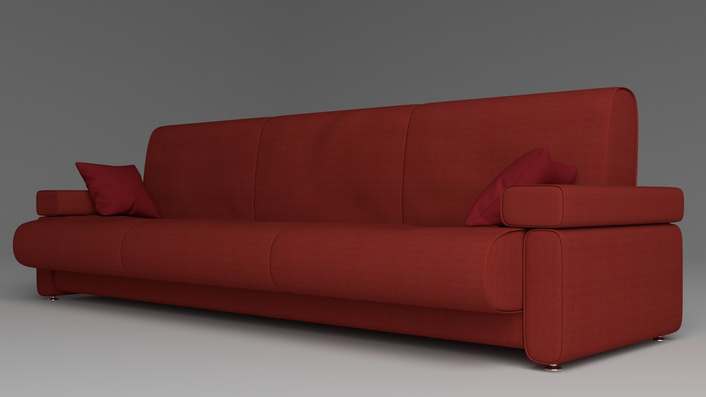 3ds max blender sofa