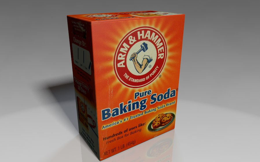 3ds max baking soda