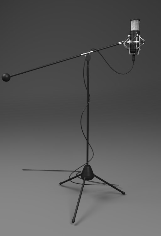 3d 3ds mic microphone m