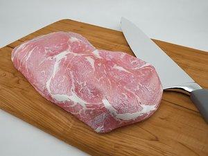 3d meat eat model