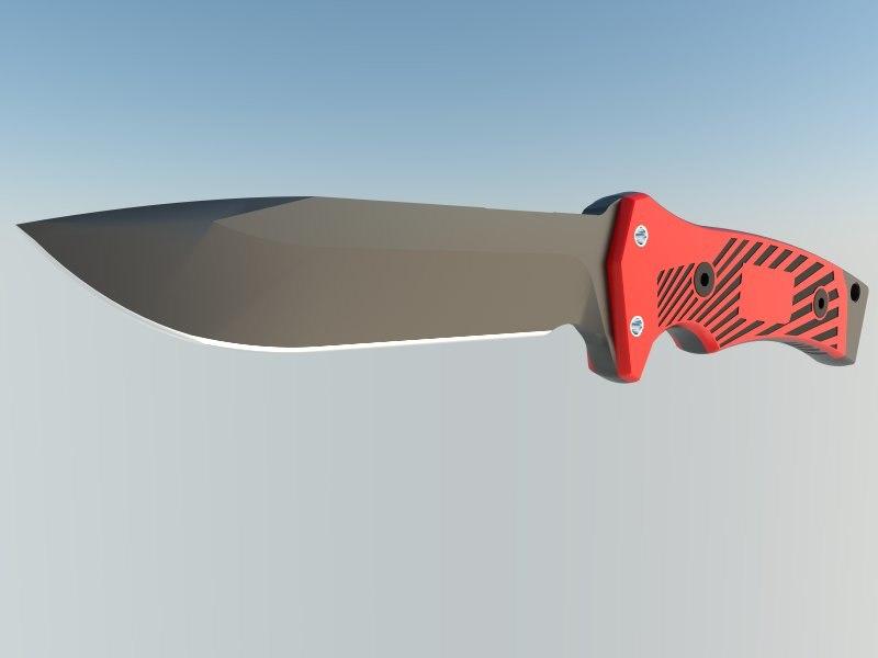 nife hunt knife 3ds