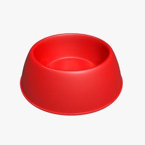 max red bowl pet
