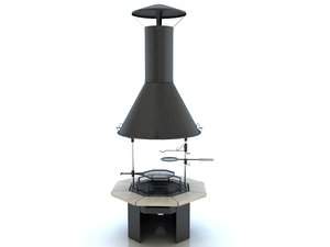 3d model polar grill m8