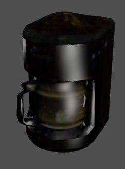 3d model coffee maker