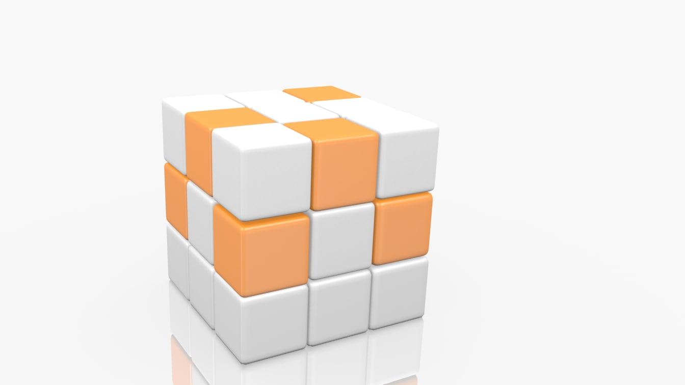 cube obj free