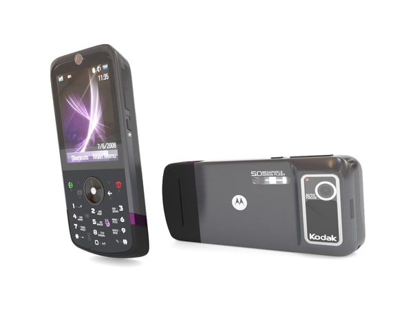 3d cameraphone motorola phone model