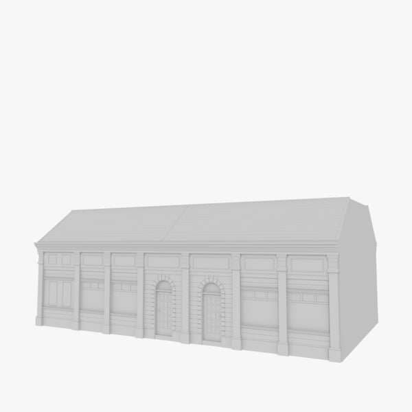 3ds european building