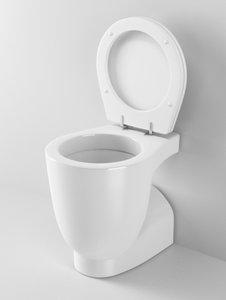 cinema4d ideal standard small toilet
