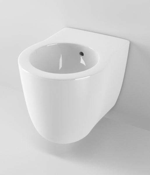 3d ideal standard small bidet model