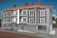3ds 2-storey building