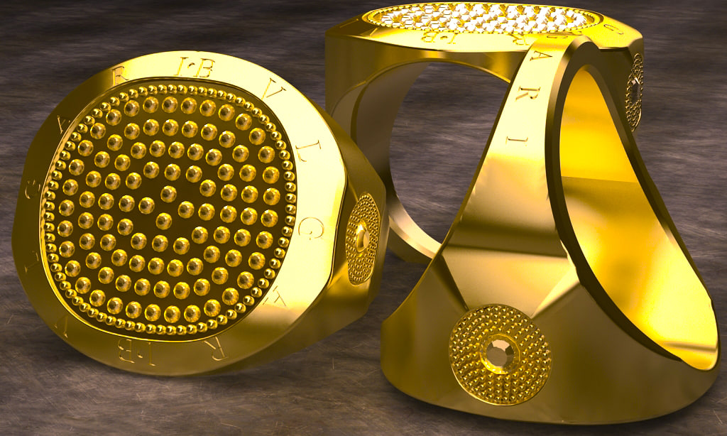 3ds max gold ring 2014