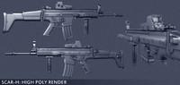 Gun SCAR-H