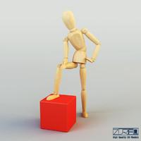 human figure ikea 3d max