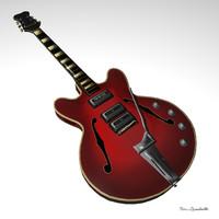 guitar orfeus 3d model
