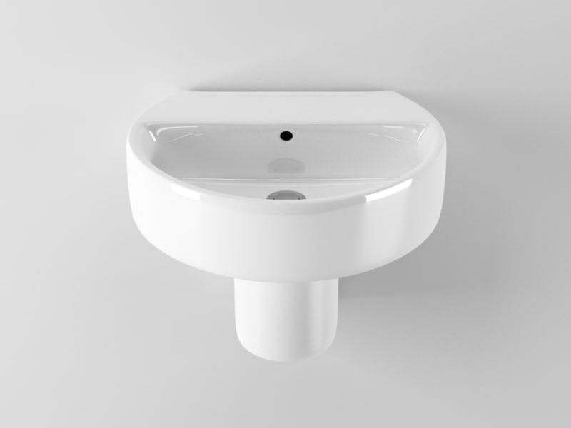 ideal standard sphere washbasin c4d