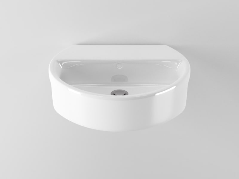 ideal standard sphere washbasin c4d