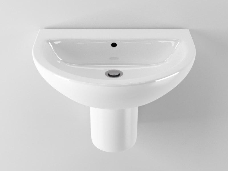 cinema4d ideal standard arc washbasin