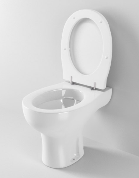 cinema4d ideal standard arc toilet