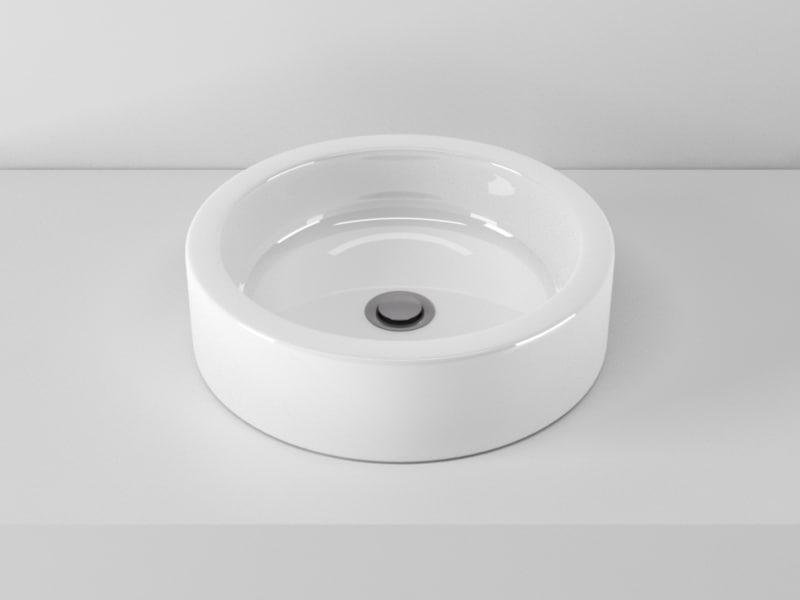 ideal standard edge washbasin 3d model