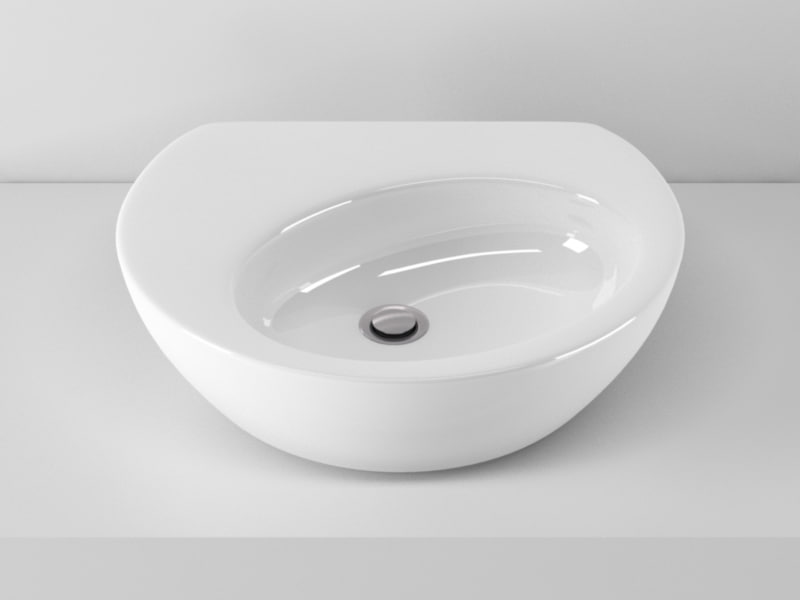 ideal standard drift washbasin 3d model