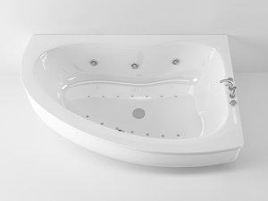 cinema4d ideal standard create bathtub