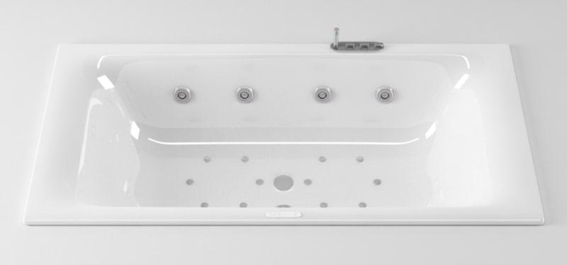 ideal standard moments bathtub 3d c4d
