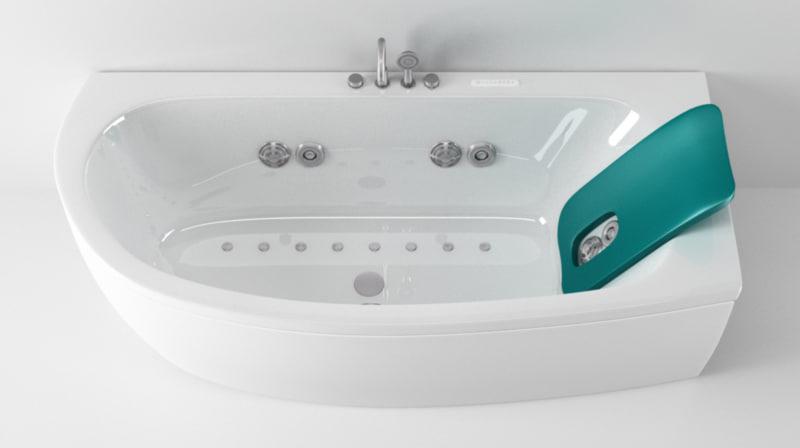 3d teuco armonya bathtub 2 model