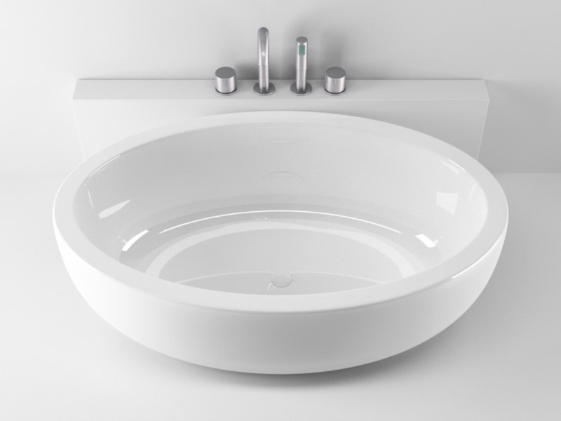 teuco feel bathtub 2 3d model