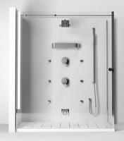 cinema4d teuco endless shower flat