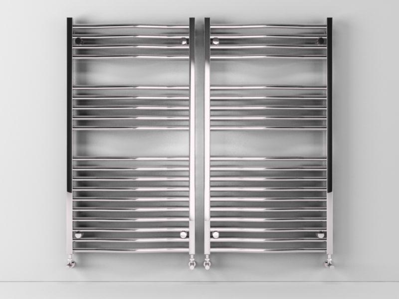heated towel rails scirocco 3d c4d