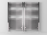 heated towel rails scirocco 3d c4d