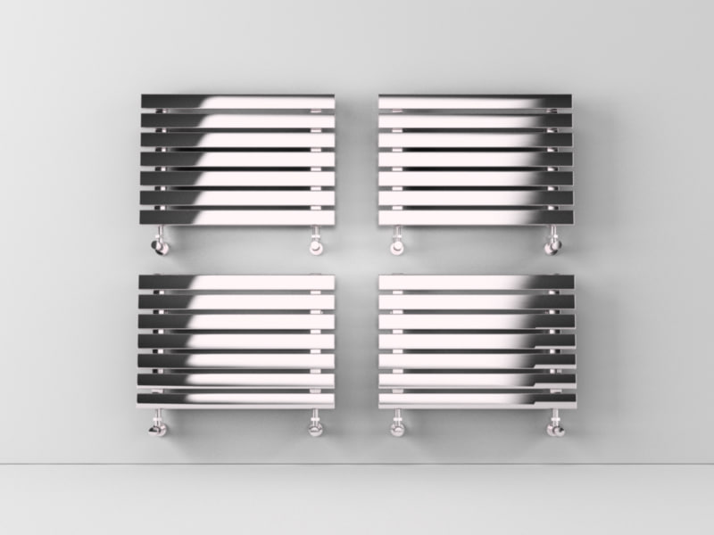 heated towel rails 2 3d c4d