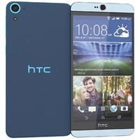 3d model htc desire 826 blue