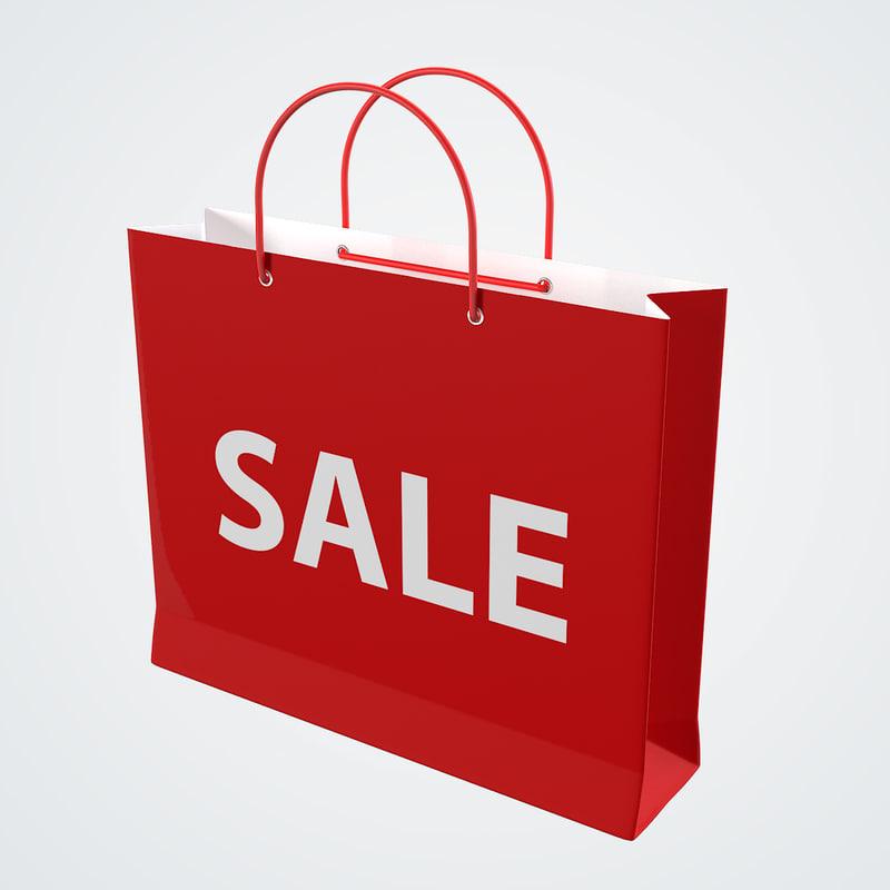 3d sale bag model