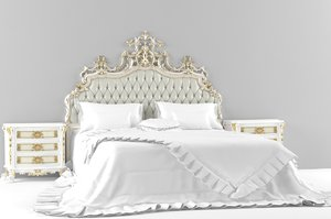 asnaghi marlisa bed 3d max
