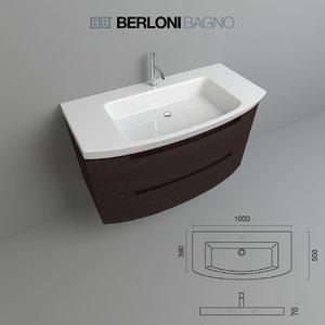 3ds max berloni bagno moon