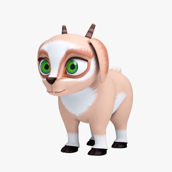 cartoon animal goat