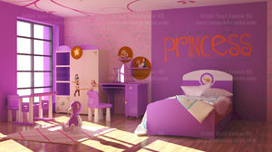girls room interior max