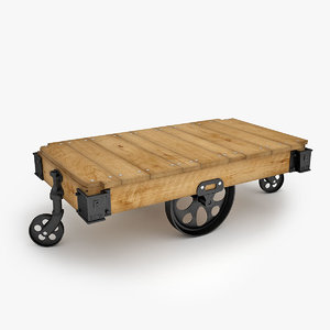 3ds max factory carts