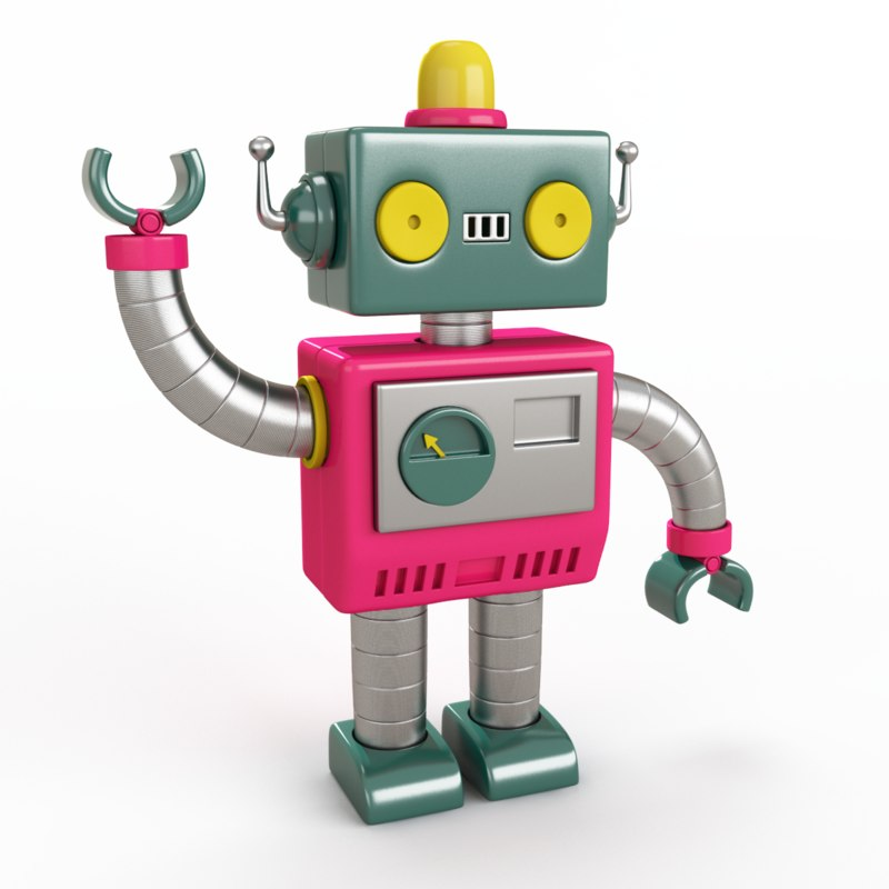 Toy Robot 3D Models for Download | TurboSquid