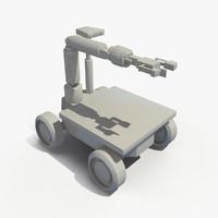 obj robot mars