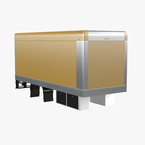 truck box module 3d model